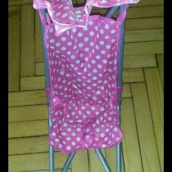 Νέο καροτσάκι για κούκλες