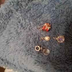 Silver pendant pendants