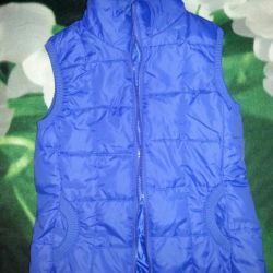 Insulated vest.New