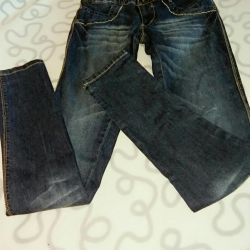 Jeans pentru fete, Italia.