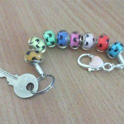 Keychain + bracelet new