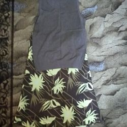 Skirt and top size 44