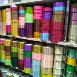 Satin ribbon and brocade all colors