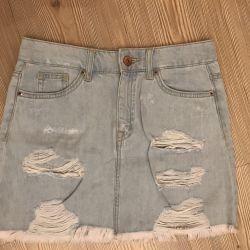 Denim skirt H & M