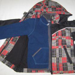 Jacket children's windbreaker raincoat 110 futurino
