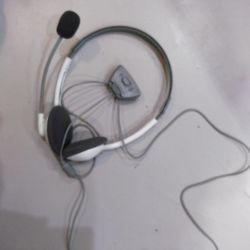 Headphones with microphone (headset) for x-box