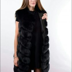 Vesta de vulpe arctic OG-96 cm