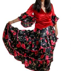 Carmen kostümü (kiralık)