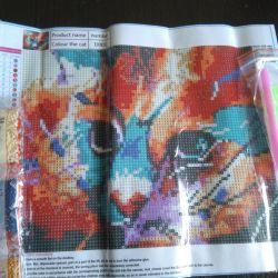 Set for mosaic rhinestones