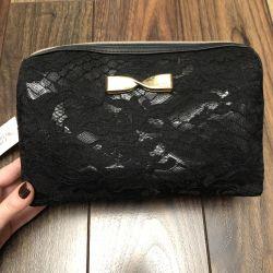 Βαμβακερή καλλυντική τσάντα Victoria's Secret. Αρχικό