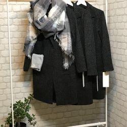Пальто с,м,л