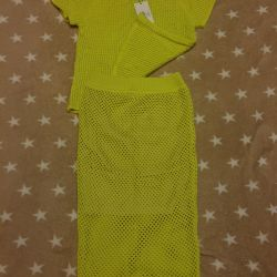 костюм- кофта, юбка (новый)