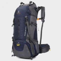 Backpack tourist Flame Horse 55 + 5L dark blue