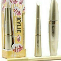 Set de Kylie Mascara + Creion + Eyeliner