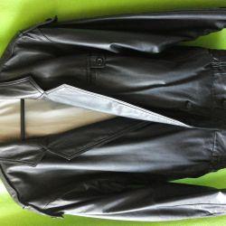 Куртка мужская кожаная Itallo Италия