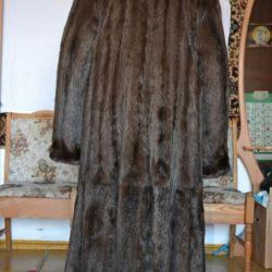 Marten kürk ceket, yeni gibi