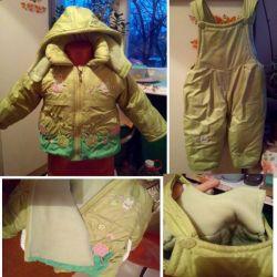Children's jumpsuit + jacket