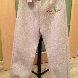 New and fleece pants for boys and girls