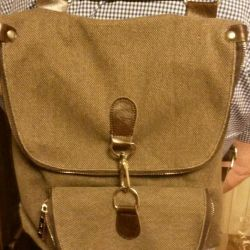 Backpack bag.