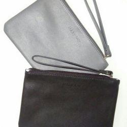 Stylish clutch with a strap.