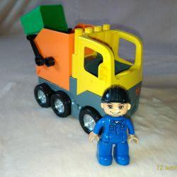 İçi boş ile uyumlu tasarım çöp kamyonu