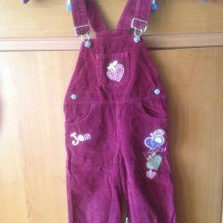 Вельветовые Gloria Jeans 92 см