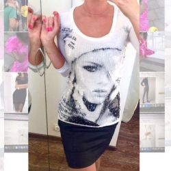 Μπλουζάκι Morgan Long Sleeve Sequin