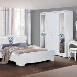 Υπνοδωμάτιο Olga 12 mdf κρεβάτι 1600
