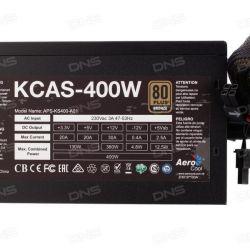 Güç kaynağı AeroCool KCAS 400W
