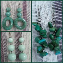 Earrings (handmade)