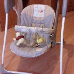 Swing pentru copii electronice Graco Baby