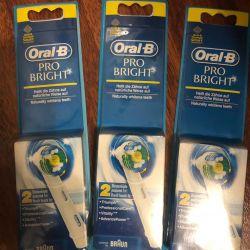 Oral-B ProBright Whitening Nozzles Germany New