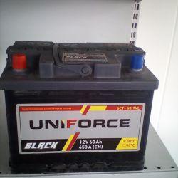 Аккумулятор UNIFORCE 60AH 450A