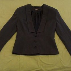 Jacket gri, montat, 42-46r, 170cm