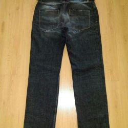 Erkekler için kot pantolonlar, yeni