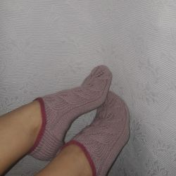 Socks. Handmade?