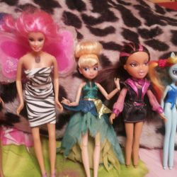 Hasbro and Disney Dolls
