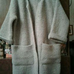 Ceket - hırka yün karışımı gri
