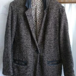 Half Coat New 54-56 / XXL WOOL
