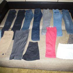 Брюки, джинсы, бриджи, юбки на девочку