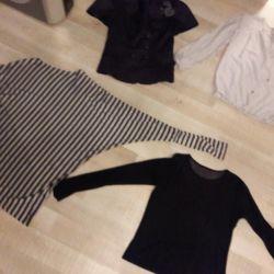 Tops, blouses, tunics, t-shirts, new
