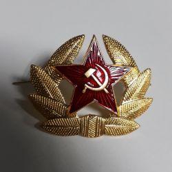 Кокарда СССР серп и молот (капуста)