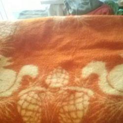 μωρό μάλλινο κουβέρτα