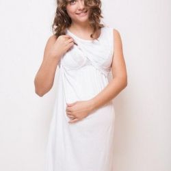 Shirts for pregnant women and feeding