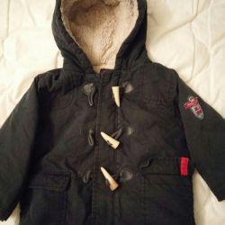 Çocukların sıcak ceketi