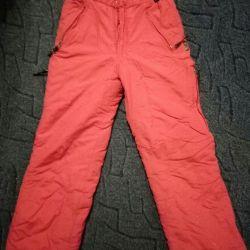 Зимнии штаны на рост 152