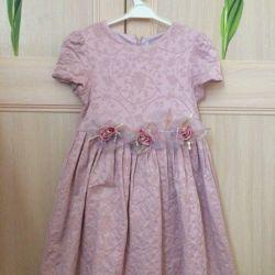 Festive dress for girls, r. 110