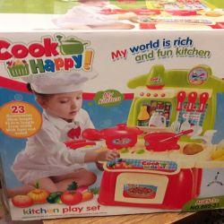 New toy kitchen