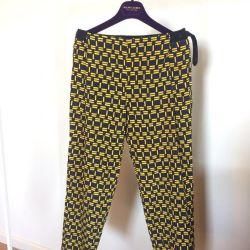 Pantaloni de mătase Zara, p.XS