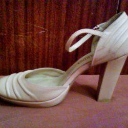 deri şık ayakkabılar